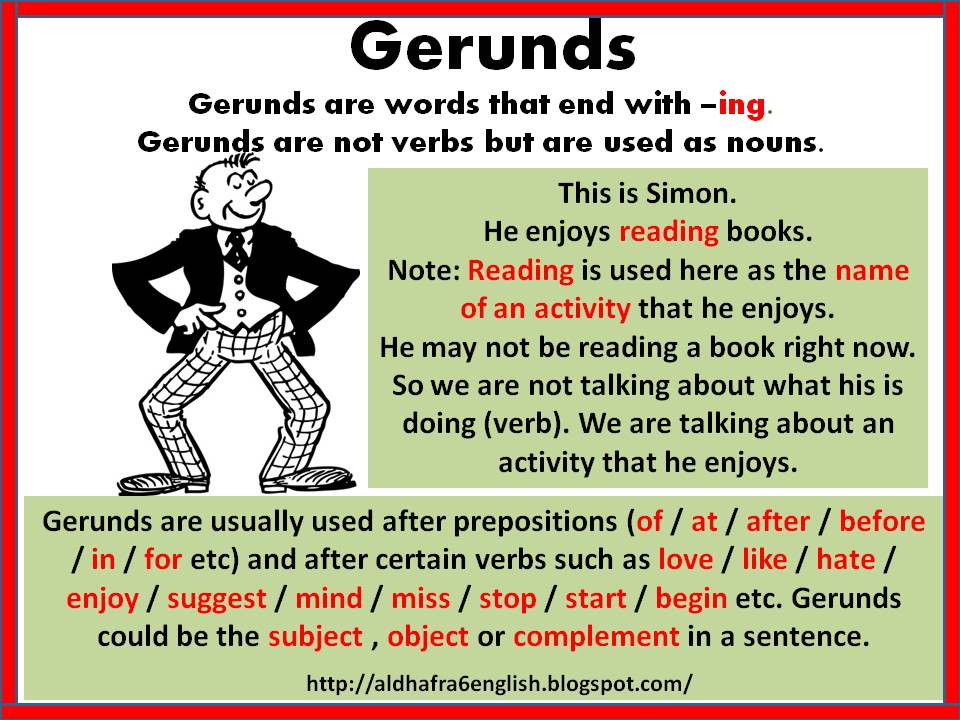 Gerunds Home
